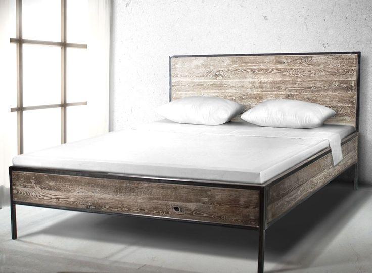 Łóżko industrialne - Wymiary: 160x200x100 - 2850zł - Łóżka - Meble - Sklep internetowy Guido