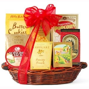 Something Sweet and Savory Basket from Holiday Gifts and Gift Baskets - Only $37 shipped!