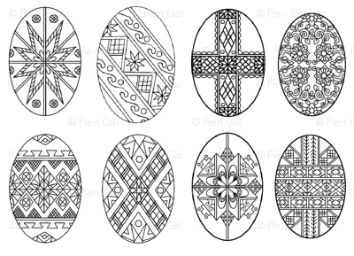 design for pysanky - Google Search