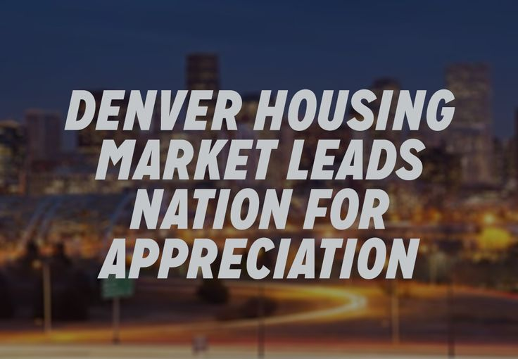 Denver is the top market since the housing boom last decade and since 1991. ========== Read more: http://dpo.st/1UEJFfH Source: The Denver Post #RealEstate #Denver #HomeAppreciation