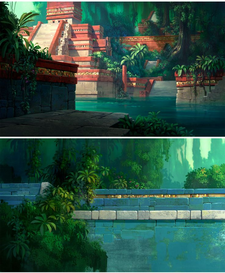 Road to El Dorado concept art by Scott Wills  http://theconceptartblog.com/wp-content/uploads/2013/01/TheRoadtoEldorado_bgs_ScottWills-2.jpg