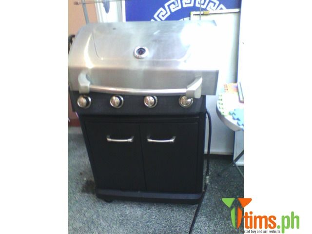 Find the best and affordable Food and Related Products for sale at tims.ph - Good Quality Australian LPG/GAS BBQ Machine with Modified Rotatory on top. Trays on both side with cover. Easily Assembl..., Las Piñas