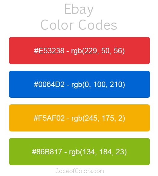 Best Color Code Book 54 Hex and RGB Color