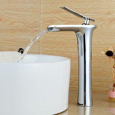 Contemporain Set de centre Cascade with Valve en céramique Mitigeur un trou for Chromé , Robinet lavabo RB0703H http://www.robinetshop.com/contemporain-set-de-centre-cascade-with-valve-en-c%C3%A9ramique-mitigeur-un-trou-for-chrom%C3%A9-robinet-lavabo-rb0703h-p-728.html