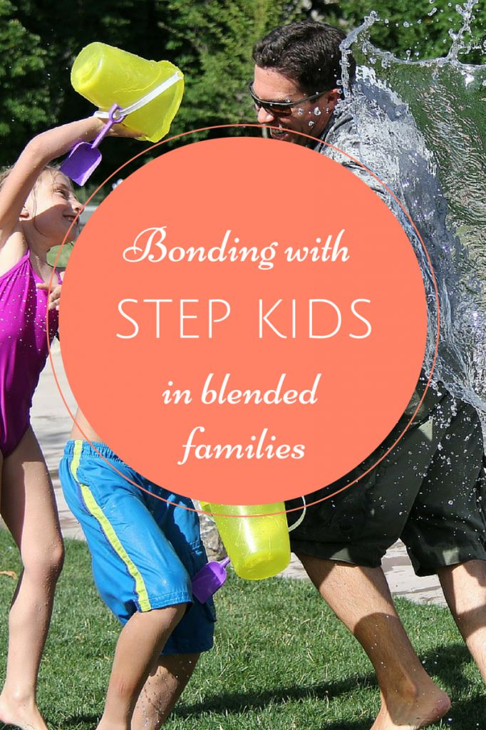 Bonding with step-children is challenging for newly blended families, and Hollywood doesn't make it easier! Check out our tips to help ease the transition.