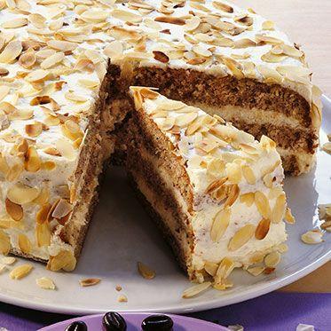Weiße Mousse-Torte Rezept   Küchengötter