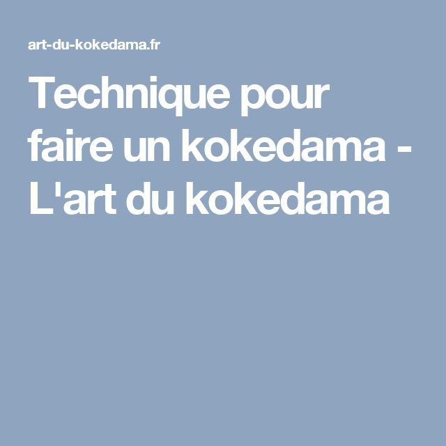 Technique pour faire un kokedama - L'art du kokedama