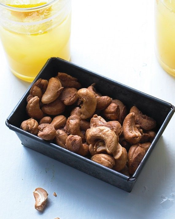 Looking to up your game? Forget mixed nuts. Spike your average cashews with lime, pepper, and brown sugar.