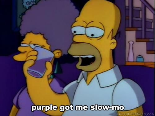 Purple drank he still sip!