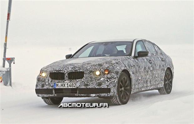 BMW Série 5 : l'hybride rechargeable fait ses premiers pas