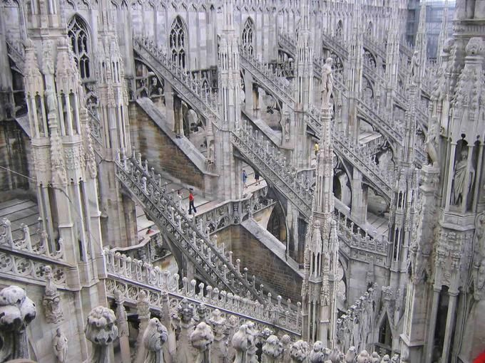 Flying Buttresses Gothic Cathedrals Pinterest