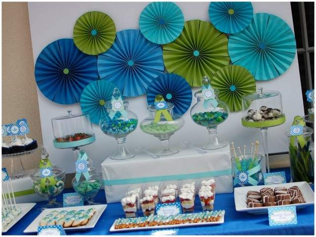 little prince themed party by pizzazzerie green baby