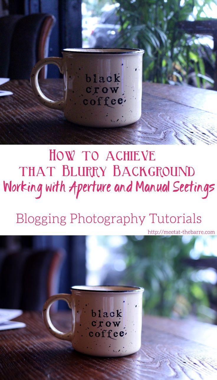 Blogging Photography Tutorials 101