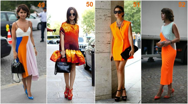 Miroslava Duma orange