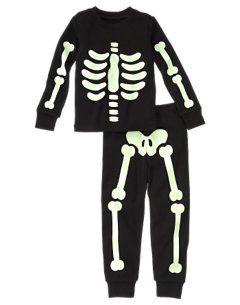Disfraz de esqueleto para Halloween