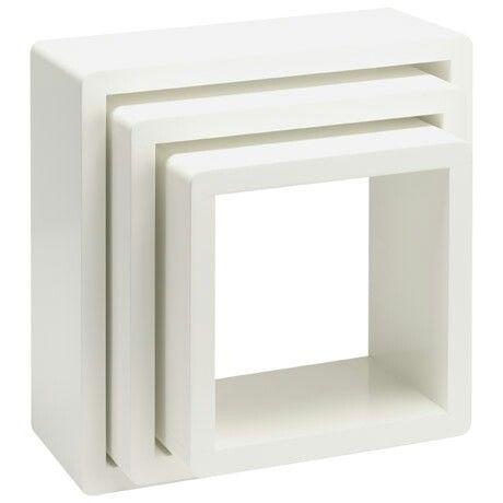 Wall box display set of 3