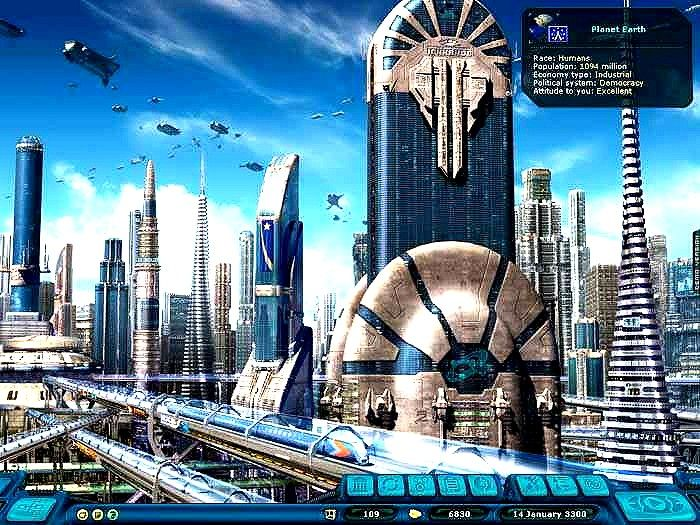 Futuristic Earth City described by Aliens. #Futuristic # ...
