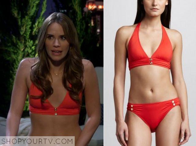 Baby Daddy: Season 4 Episode 11 Robyn's Red Stud Bikini