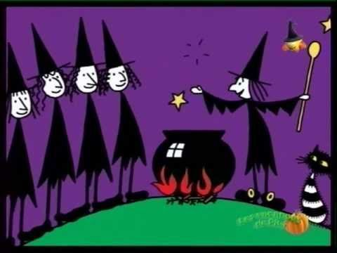 French video that is great for Halloween! Meg et Mog - et le hibou - YouTube