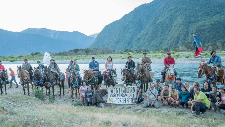Tres días duró la segunda cabalgata por la defensa del Río Puelo