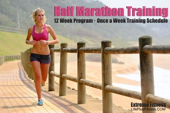 12 week program with only once a week running schedule. With my limited time this is the best program. So excited to get started!
