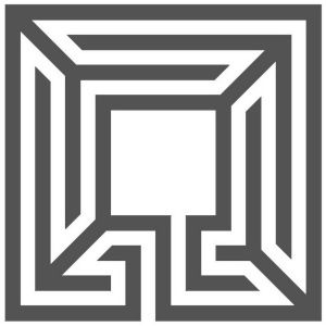 A 3-circuit 5-axle square labyrinth