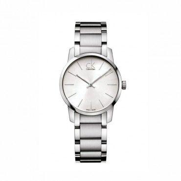 Calvin Klein City K2G23126 Γυναικείο ελβετικό ρολόι CK με ασημί καντράν & ατσάλινο μπρασελέ   Ρολόγια CALVIN KLEIN στο Χαλάνδρι - ΤΣΑΛΔΑΡΗΣ #Calvin #Klein #city #μπρασελε #ρολοι
