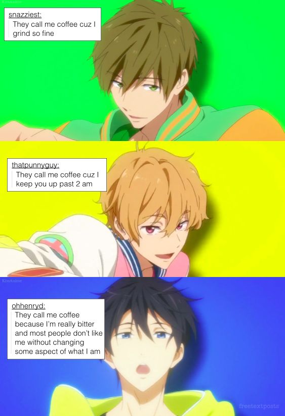 Free! Text Posts - they call me coffee