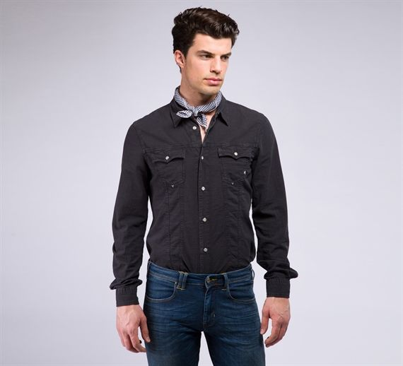 MCM083 - Cycle #cyclejeans #man #apparel #springsummer #collection #style #fashion #denim #shirt