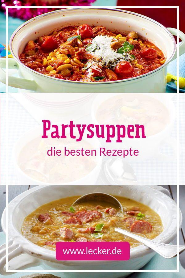 Partysuppen – die besten Rezepte für lange Nächte