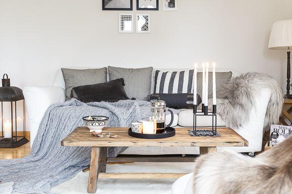 Amalie loves Denmark: LIFESTYLE | Im Wohnzimmer und die Strickdecke Interior Nordic Danish by lassen Skandinavisk