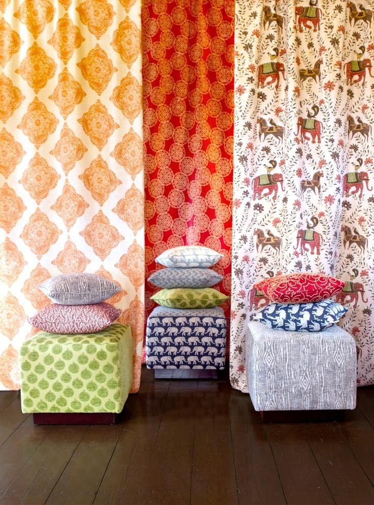 Duralee Designer: John Robshaw: Patterns Colors, Robshaw Fabrics, Fabulous Fabrics, Spring Colors, White Fabrics, Jr Fabrics, Fabrics Wallpapers, John Robshaw, Texture Prints Patterns