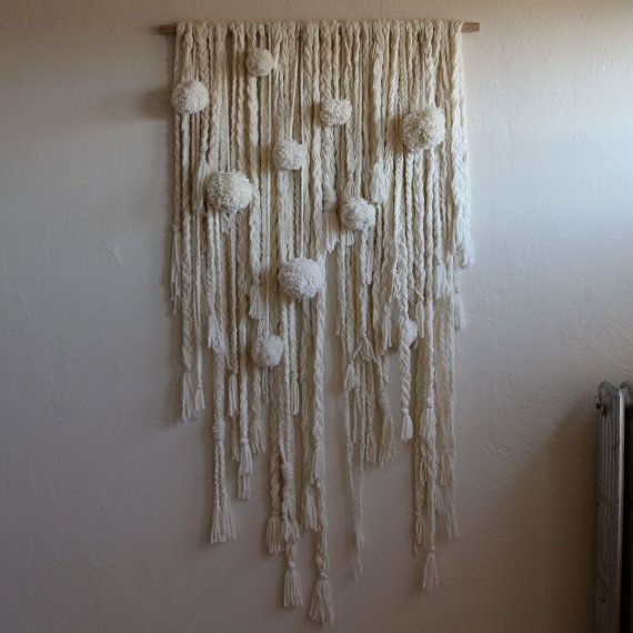 Hey, I found this really awesome Etsy listing at http://www.etsy.com/listing/162441907/xl-braided-spheres-fiber-wall-hanging