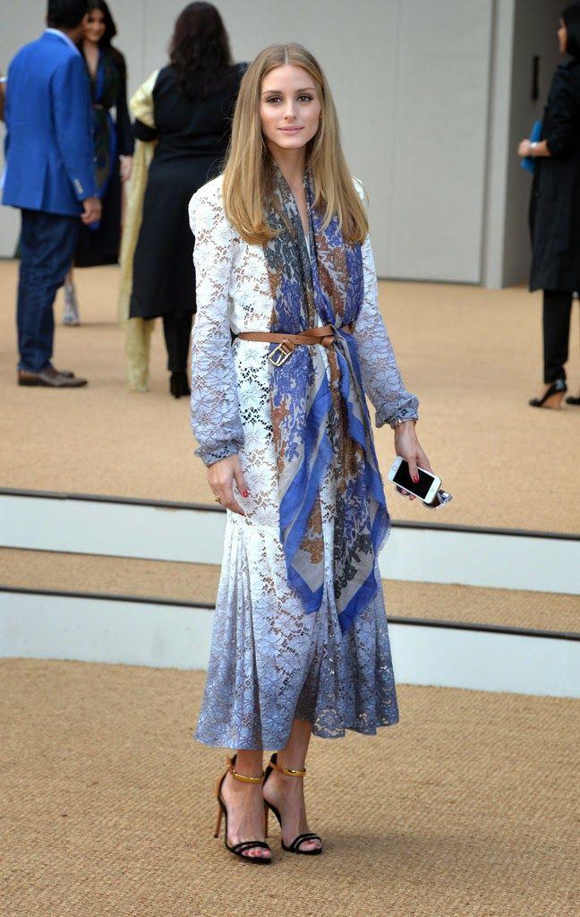 Olivia Palermo's Elegant London Fashion Week Style   The Front Row View