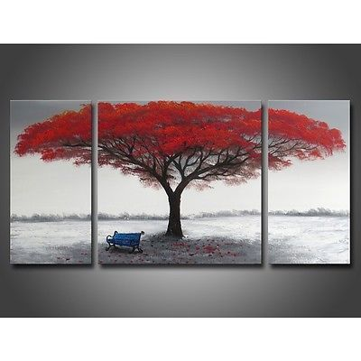 Wall Art Red 45 best red home decor images on pinterest | paintings, red tree