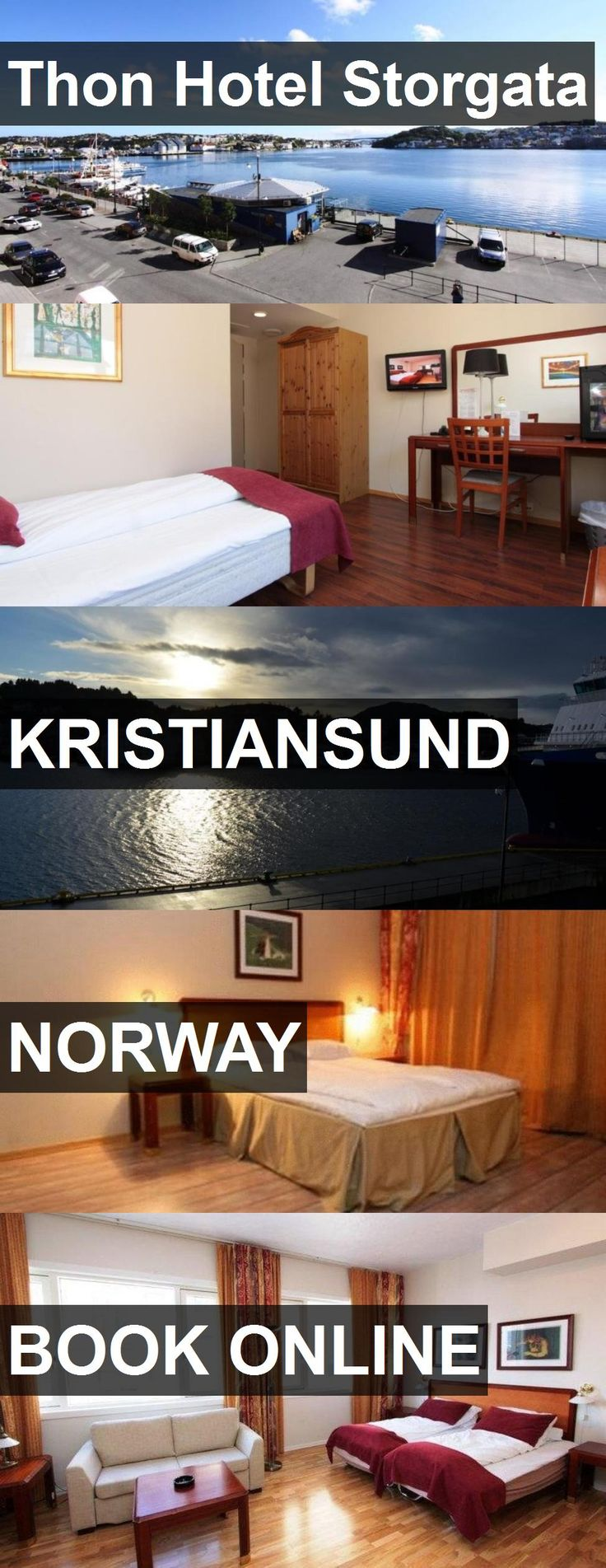 Thon Hotel Storgata in Kristiansund, Norway. For more information, photos, reviews and best prices please follow the link. #Norway #Kristiansund #travel #vacation #hotel