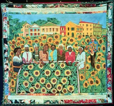 Artist Profile - Faith Ringgold, African-American Painter of Story Quilts