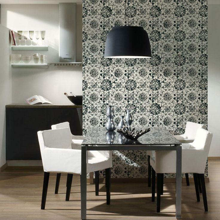 Mejores 59 imágenes de Papel pintado cocina en Pinterest   Cocinas ...