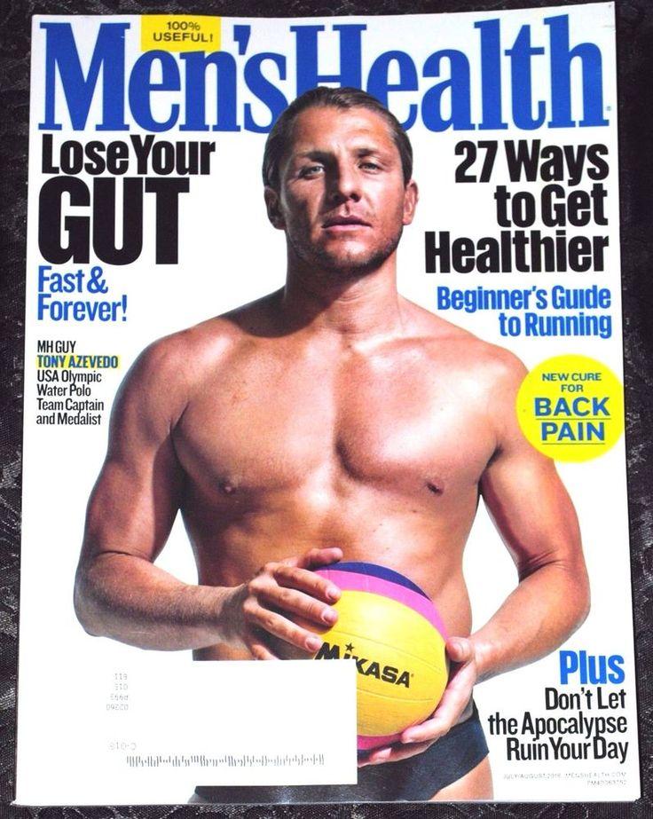 Men's Health Magazine July/August 2016