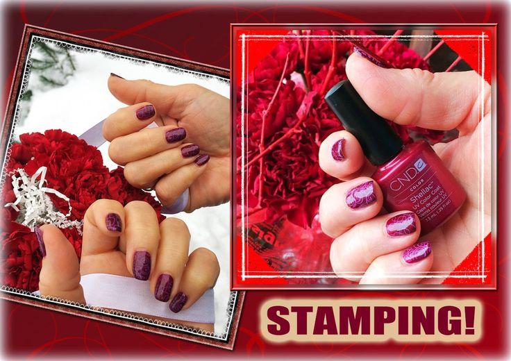 Стемпинг на Гель Лак с пластинами Konad и Cici&SISI (Stamping nail art +...
