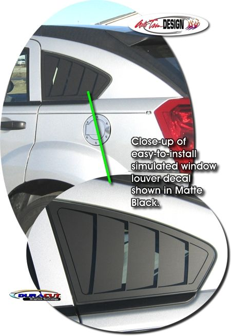 Vehicle specific decal kits for Dodge Caliber that are Precut and ready to install.