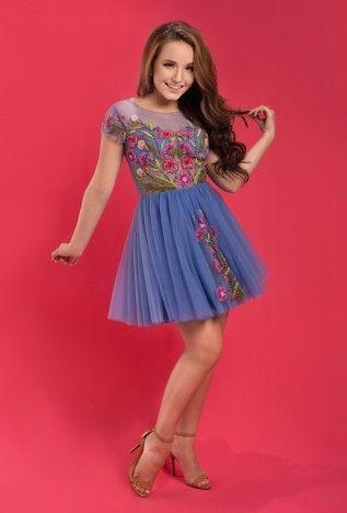 Vestido Rafaela M1708 - Coleção Larissa Manoela