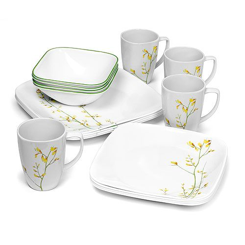 338 Best Images About Corelle Dinnerware On Pinterest  sc 1 st  Castrophotos : corelle dinnerware 16 piece set - pezcame.com
