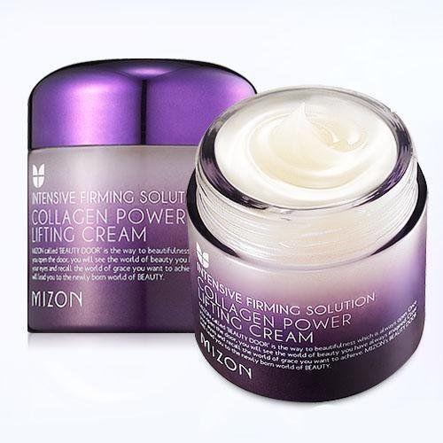 MIZON Collagen Power Lifting Cream 75ml / Korea cosmetic / Skin care #Mizon #Collagen #Antiaging #koreacosmetic