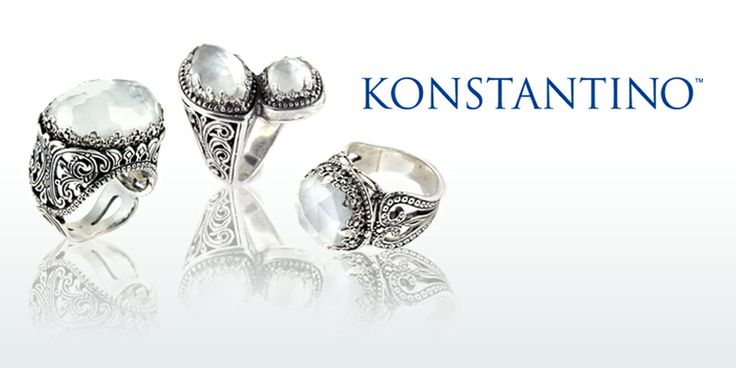 Timeless Konstantino jewels abound at this exciting trunk show in Tyler @ Ramsey Fritz, 109 E. 7th street, Tuesday!