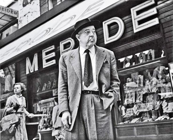 Jacques Prévert, par R.Doisneau