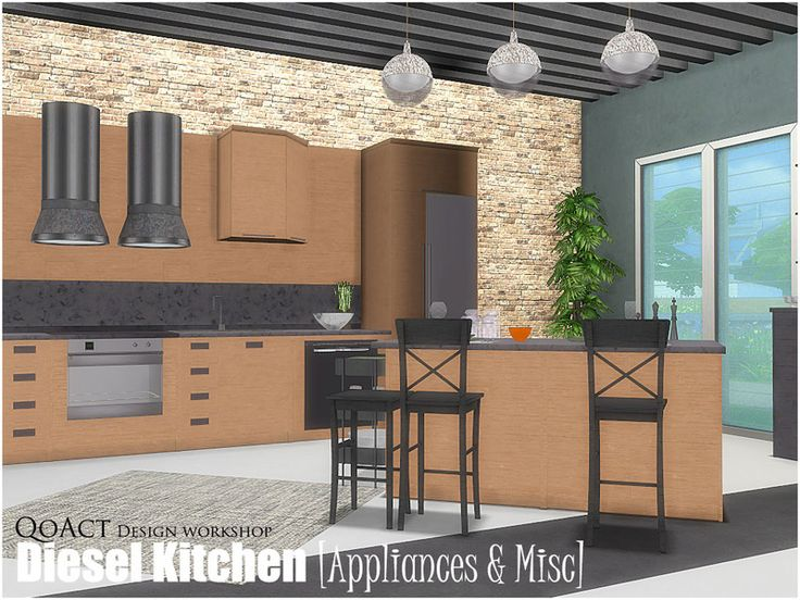 35 best The Sims 4 Kitchen images on Pinterest