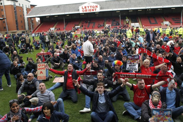 Crisis-club Leyton Orient staring into the abyss as they prepare for Football League exit