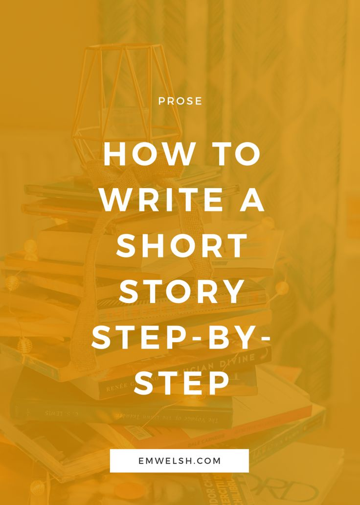 How to Write a Short Story StepbyStep (With images
