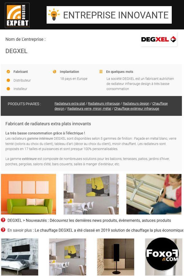 Societe Innovante Degxel Fabricant Autrichien De Radiateurs A